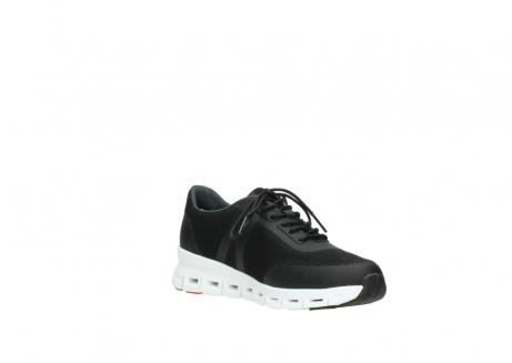 wolky lace up shoes 2050 nano 900 black mesh upper_16