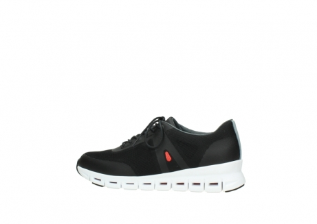wolky lace up shoes 2050 nano 900 black mesh upper_2