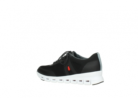 wolky lace up shoes 2050 nano 900 black mesh upper_3
