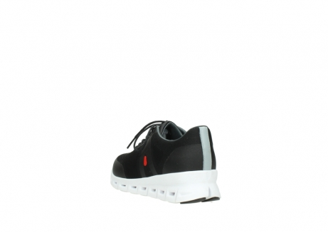 wolky lace up shoes 2050 nano 900 black mesh upper_5