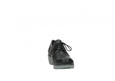 wolky veterschoenen 3814 gobly 560 donkerpaars zwart geolied leer_18
