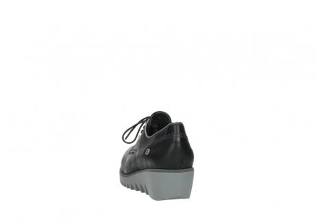 wolky veterschoenen 3814 gobly 560 donkerpaars zwart geolied leer_6