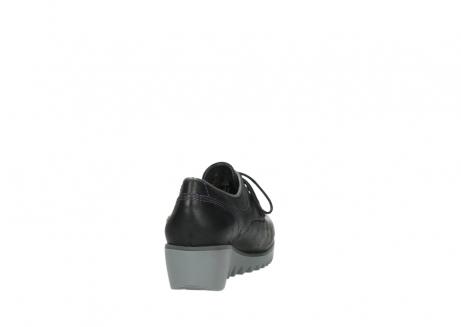 wolky veterschoenen 3814 gobly 560 donkerpaars zwart geolied leer_8