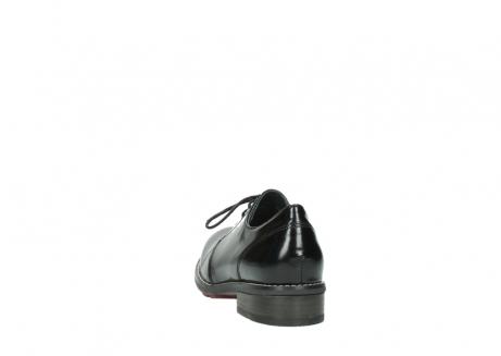 wolky veterschoenen 4436 barron 300 zwart gepoetst leer_6