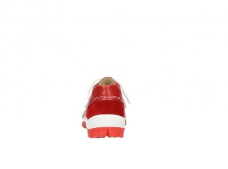 wolky veterschoenen 4701 fly 250 rood leer_7