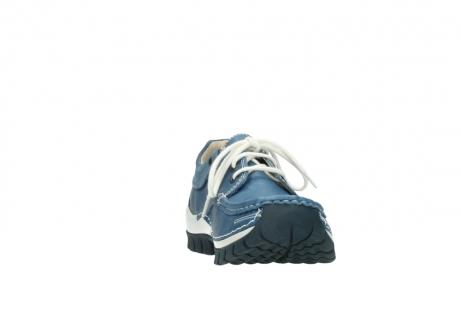 wolky schnurschuhe 4701 fly 289 vintage blau leder_18