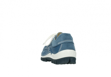 wolky schnurschuhe 4701 fly 289 vintage blau leder_6