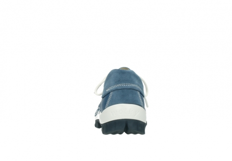 wolky schnurschuhe 4701 fly 289 vintage blau leder_7