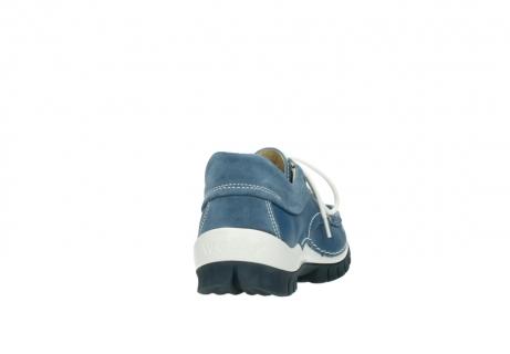 wolky veterschoenen 4701 fly 289 vintage blauw leer_8