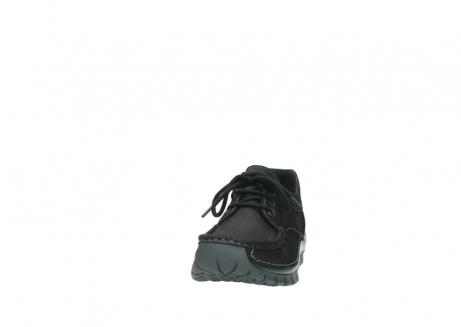 wolky veterschoenen 4726 fly winter 500 zwart geolied nubuck_20