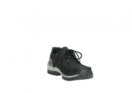 wolky veterschoenen 4726 fly winter 505 zwart metallic geolied nubuck_17