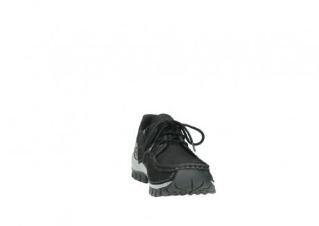 wolky veterschoenen 4726 fly winter 505 zwart metallic geolied nubuck_18