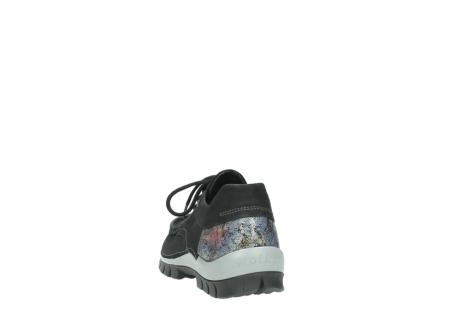 wolky veterschoenen 4726 fly winter 505 zwart metallic geolied nubuck_6