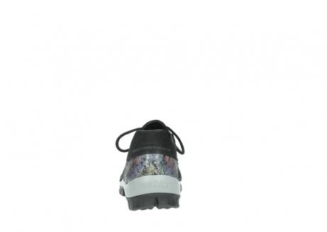 wolky veterschoenen 4726 fly winter 505 zwart metallic geolied nubuck_7