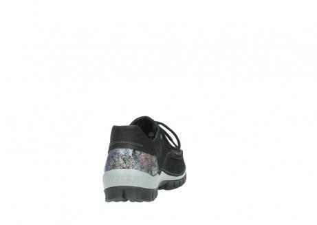 wolky veterschoenen 4726 fly winter 505 zwart metallic geolied nubuck_8