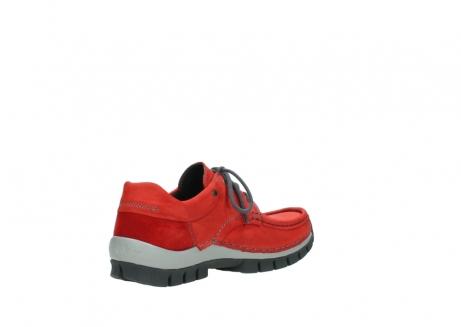 wolky veterschoenen 4726 fly winter 552 rood grijs geolied nubuck_10
