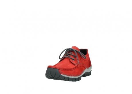 wolky veterschoenen 4726 fly winter 552 rood grijs geolied nubuck_21