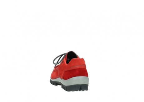 wolky veterschoenen 4726 fly winter 552 rood grijs geolied nubuck_6