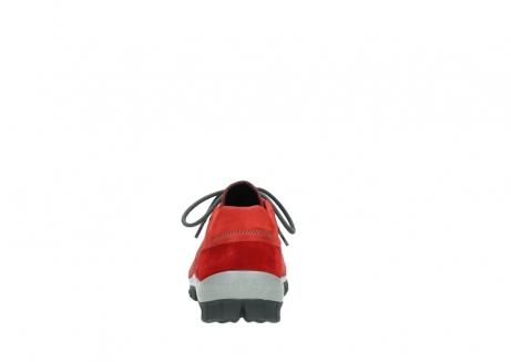 wolky veterschoenen 4726 fly winter 552 rood grijs geolied nubuck_7
