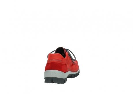wolky veterschoenen 4726 fly winter 552 rood grijs geolied nubuck_8