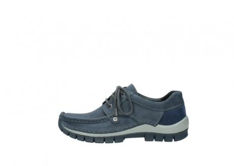 wolky veterschoenen 4734 seamy fly 180 jeans blauw nubuck_1