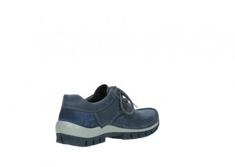 wolky veterschoenen 4734 seamy fly 180 jeans blauw nubuck_10