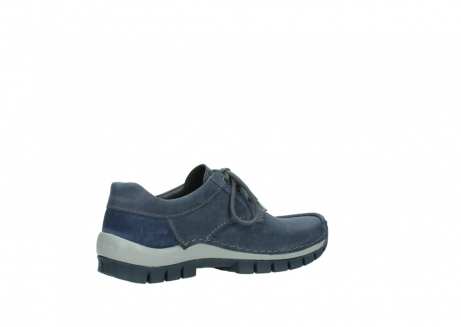wolky veterschoenen 4734 seamy fly 180 jeans blauw nubuck_11