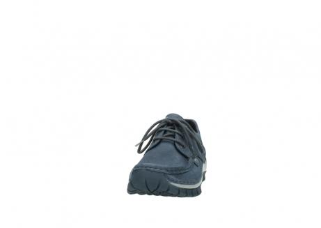 wolky veterschoenen 4734 seamy fly 180 jeans blauw nubuck_20