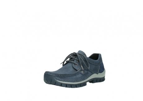 wolky veterschoenen 4734 seamy fly 180 jeans blauw nubuck_22