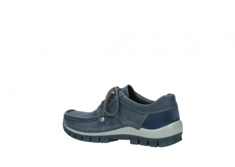 wolky veterschoenen 4734 seamy fly 180 jeans blauw nubuck_3