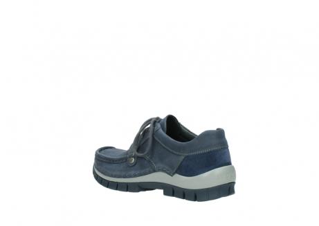 wolky veterschoenen 4734 seamy fly 180 jeans blauw nubuck_4