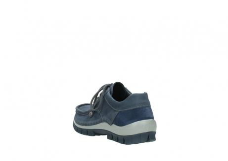 wolky veterschoenen 4734 seamy fly 180 jeans blauw nubuck_5