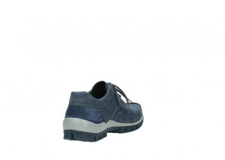 wolky veterschoenen 4734 seamy fly 180 jeans blauw nubuck_9