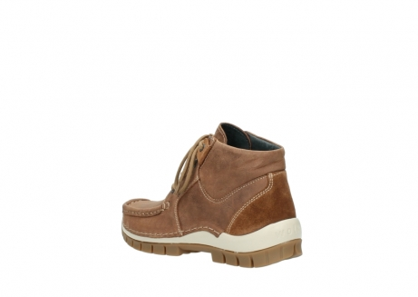 wolky veterschoenen 4735 seamy cross up 143 cognac nubuck_4