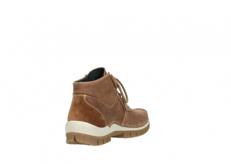 wolky veterschoenen 4735 seamy cross up 143 cognac nubuck_9