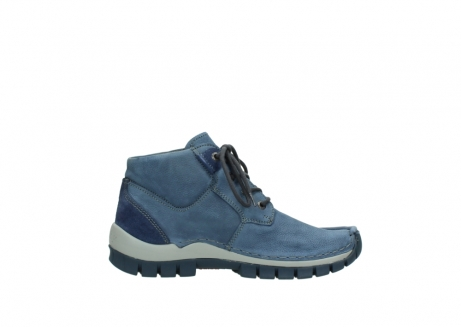 wolky veterschoenen 4735 seamy cross up 180 donkerblauw nubuck_13
