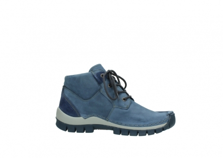 wolky veterschoenen 4735 seamy cross up 180 donkerblauw nubuck_14