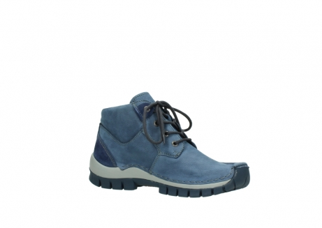 wolky veterschoenen 4735 seamy cross up 180 donkerblauw nubuck_15