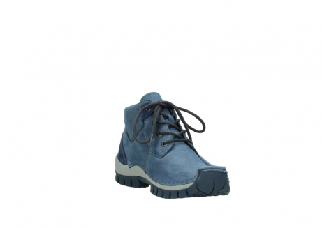 wolky veterschoenen 4735 seamy cross up 180 donkerblauw nubuck_17
