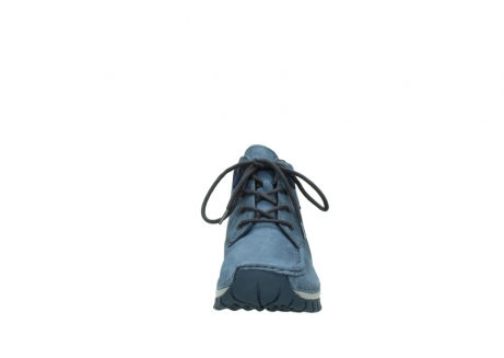 wolky veterschoenen 4735 seamy cross up 180 donkerblauw nubuck_19