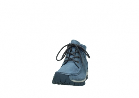 wolky veterschoenen 4735 seamy cross up 180 donkerblauw nubuck_20