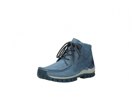 wolky veterschoenen 4735 seamy cross up 180 donkerblauw nubuck_22