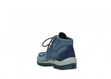 wolky veterschoenen 4735 seamy cross up 180 donkerblauw nubuck_5