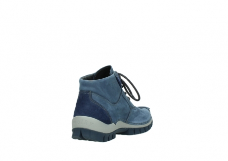 wolky veterschoenen 4735 seamy cross up 180 donkerblauw nubuck_9
