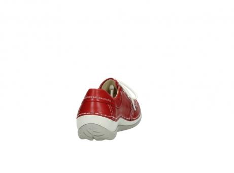 wolky veterschoenen 4800 coral 257 rood leer_8
