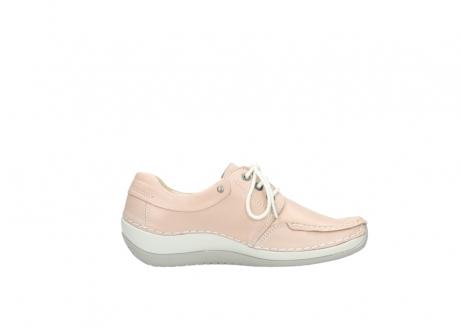 wolky veterschoenen 4800 coral 262 oud roze leer_13