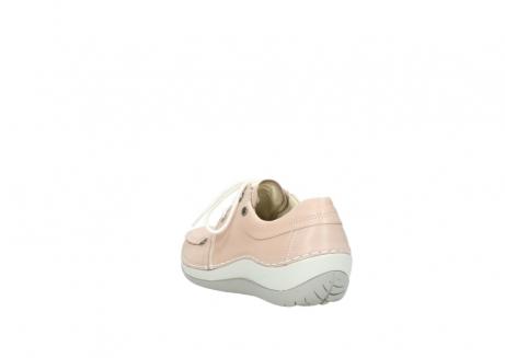 wolky veterschoenen 4800 coral 262 oud roze leer_5