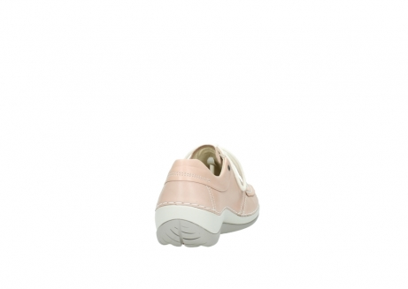 wolky veterschoenen 4800 coral 262 oud roze leer_8