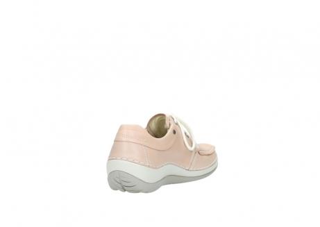 wolky veterschoenen 4800 coral 262 oud roze leer_9