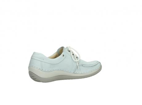 wolky veterschoenen 4800 coral 285 ice blauw leer_11